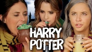 Repeat youtube video Harry Potter Foods w/ LAURA MARANO (Cheat Day)