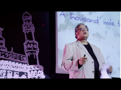 Chance or Vision - Story of the Indian BPO Industry | Raman Roy | TEDxHyderabad