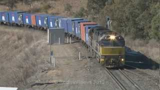Freightliner Australia : GE C44aci : Australian trains and railroads