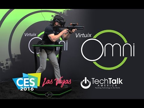 Virtuix Omni: Best of CES 2016
