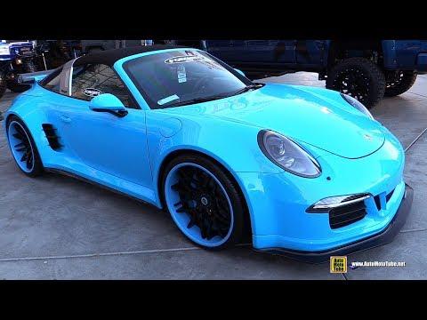 2016 Porsche 911 Targa 4 GTS with Wide Body Kit and Forgiato Wheels - Walkaround - 2017 SEMA