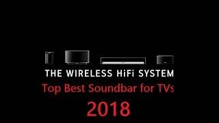Top new Soundbar for TVs 2018
