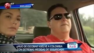 Juan Pablo Escobar vuelve a la q fue su casa