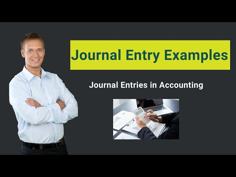 Journal Entry Examples | Top Examples Of Journal Entries In Accounting