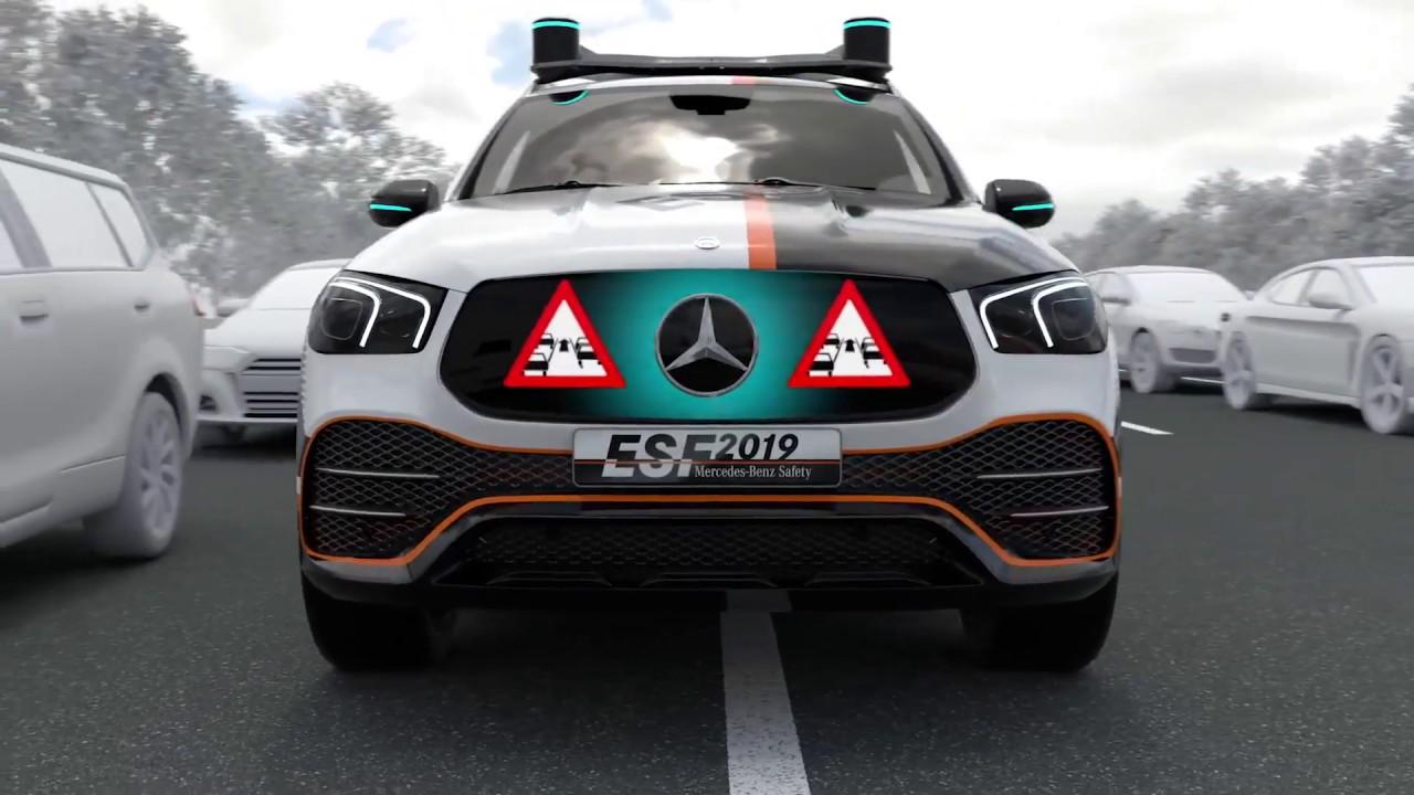 ESF 2019 Concept – tầm nhìn của Mercedes về một tương lai không tai nạn -