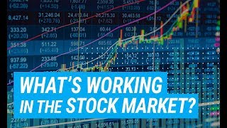 What's Working Best In The Stock Market Right Now