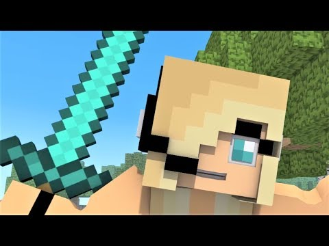 Psycho Girl 1-11 Minecraft Musical Series!  Minecraft Songs and Minecraft Animation Movie 2017