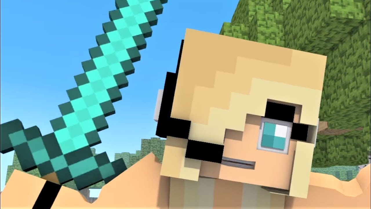 Psycho Girl 12-1212 Minecraft Musical Series! Minecraft Songs and Minecraft  Animation Movie 20127