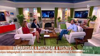 Hutlassa Tamás a Viszkis-film forgatásáról: ˝A magyar színészek talán túlzottan is bevállalósak˝