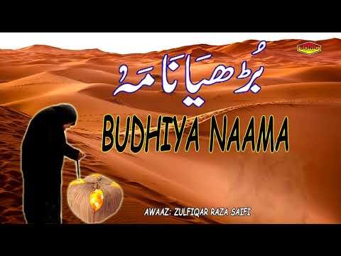 Budhiya Naam || Zulfiqar Raza Saifi || Islamic