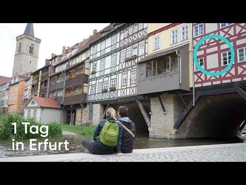 VLOG #8 - 1 Tag in Erfurt in 5 Minuten: Sehenswürdigkeiten und Tipps / Follow us around