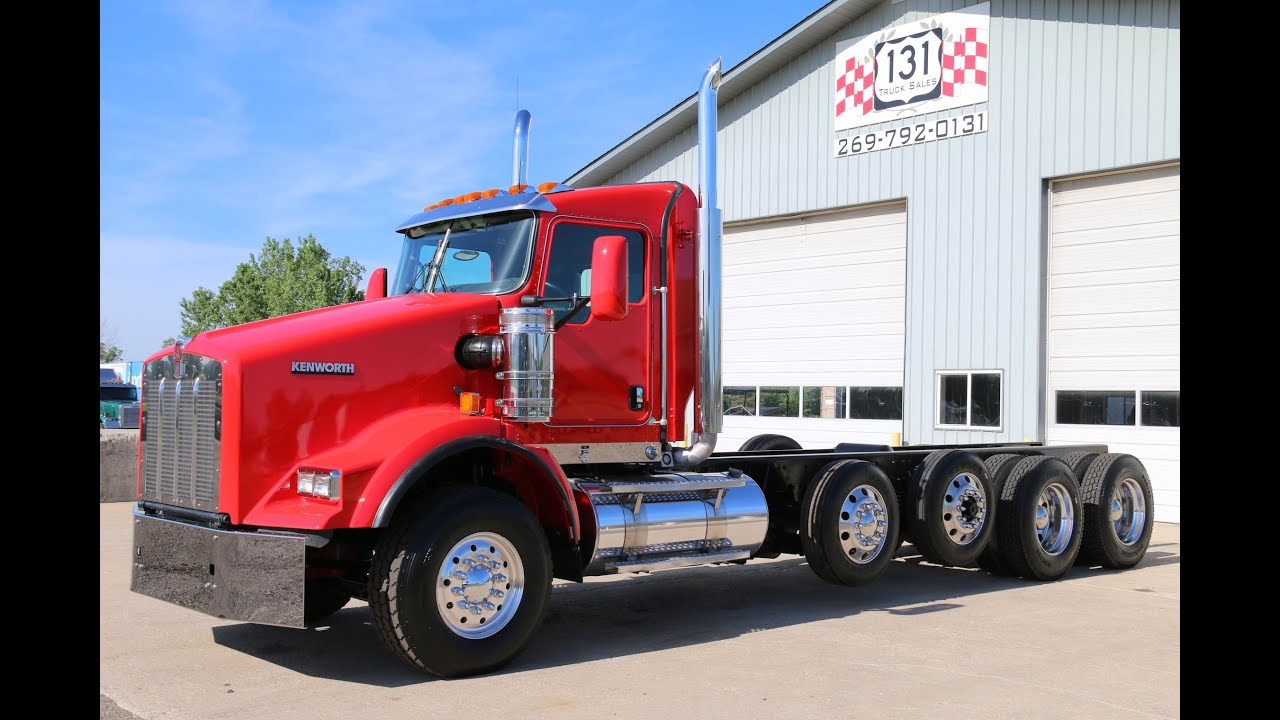 Kenworth T800 Heay Spec Cab Amp Chassis