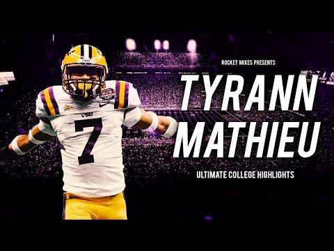 "Tyrann Mathieu LSU Highlights - ""Young Honey Badger"""
