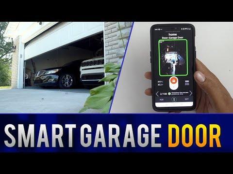 How to Make a DIY Smart Garage Door Opener that Works with