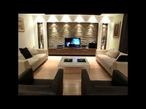 living room one wall color ideas YouTube