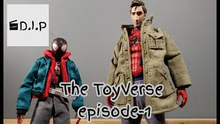 Into The ToyVerse Episode 1 - A New Beginning | Spider-Man Stop-motion Animation|