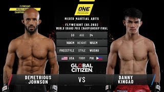 Demetrious Johnson vs. Danny Kingad: ONE Century (FULL MATCH)
