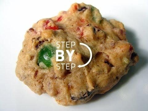 Fruitcake Cookies Recipe How To Make Fruitcake Cookies Jan Charles