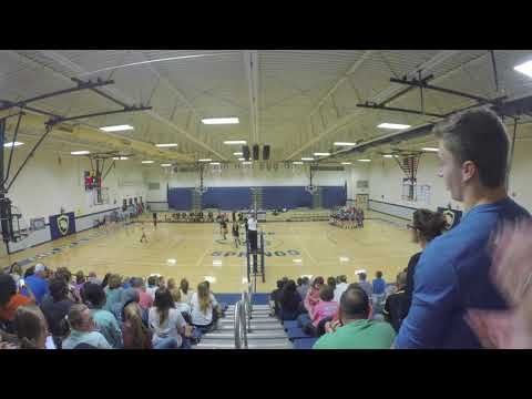 2017 Rutherford County TN MS Volleyball Finals Christiana Middle School vs. Siegel Set 7