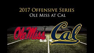Ole Miss Offense vs. Cal (2017)
