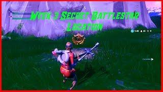 Fortnite Week 3 *SECRET* Battle star Location