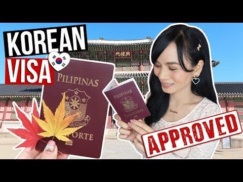 HOW TO GET KOREAN VISA For FILIPINOS (Ultimate Guide + Tips) | RealAsianBeauty