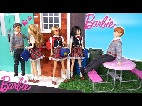 Barbie Doll Twin Family School Morning Routine to Night  Routine