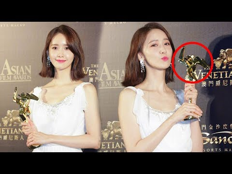[Update to Day] YoonA Won AFA Next Genaration @ 2018  Asian Film  Awards In Macau