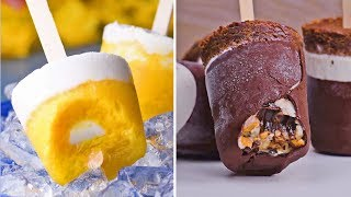 Fun Frozen Treats To Beat The Heat | Ice Cream & Popsicles | Summer 2018 Recipes by So Yummy