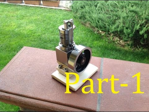 Building of a monocylinder engine - Part 1 (Cylinder)