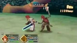 PSP動画キャプテスト。友人プレイ、微妙にシュールな戦い。
