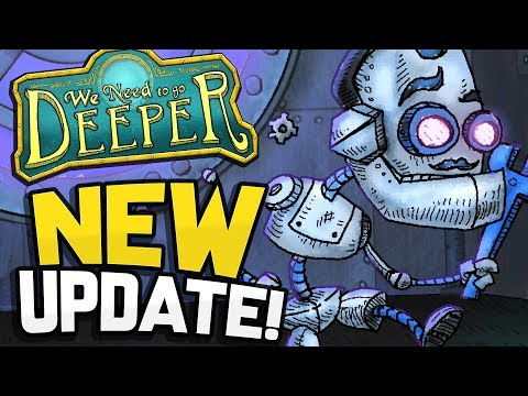 THE UPDATE I'VE BEEN WAITING FOR!! Bots & Solo Adventure! - We Need To Go Deeper Update (Gameplay)
