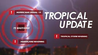 Tropical Storm Basyang (Sanba) races towards the Philippines