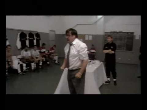 Exclusive footage of the England dressing room at half time during their 2nd group stage game at the 1998 World Cup