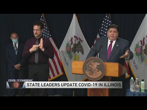 Governor JB Pritzker gives an update on COVID-19 in Illinois