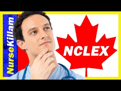 NCLEX In Canada Eh? Top Four Tips For Passing The NCLEX!!