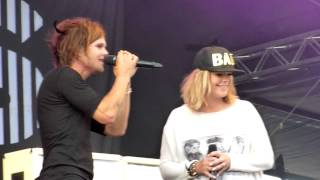 The Rasmus Feat Anette Olzon October April Kivenlahti Rock 2014