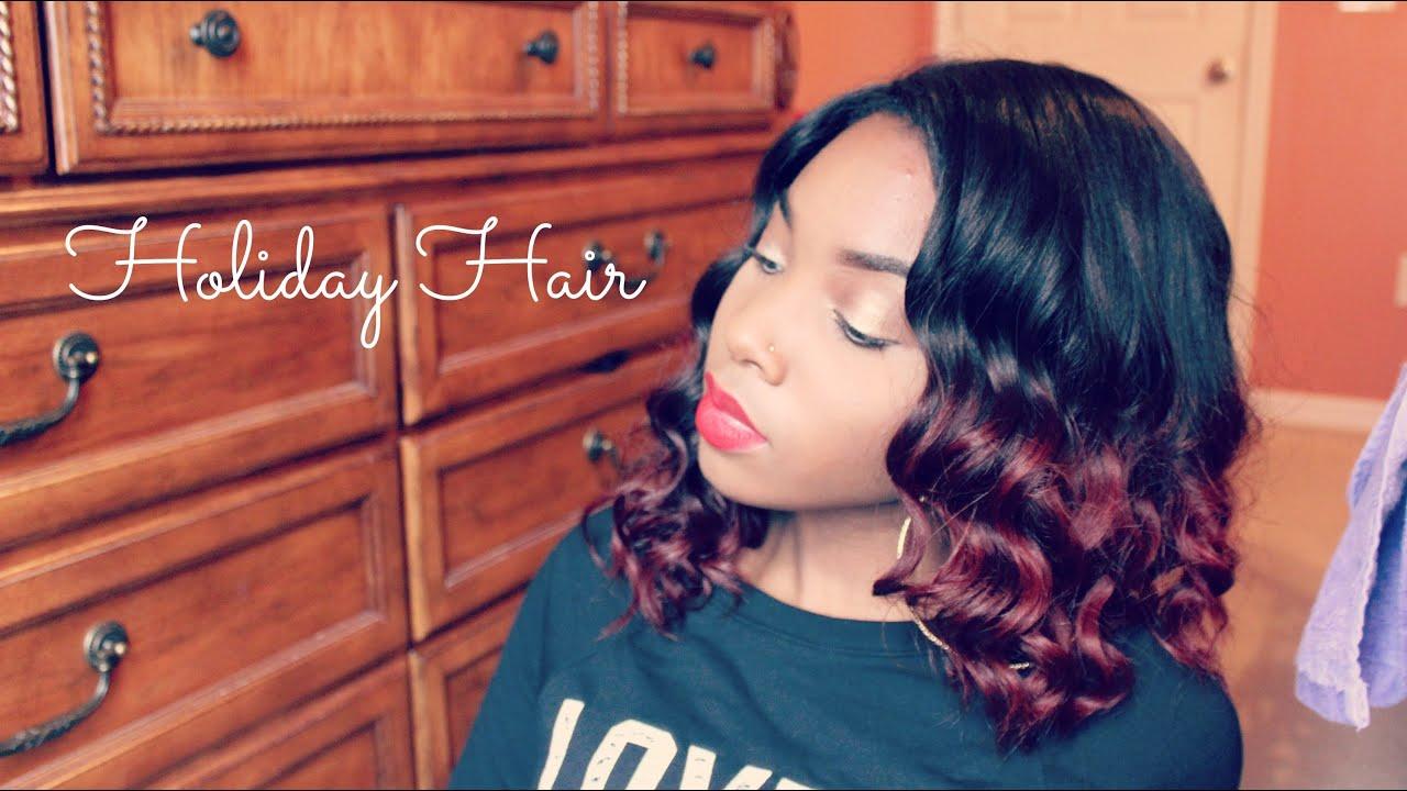 Rpgshow Wig Holiday Hair Curly Bob Youtube