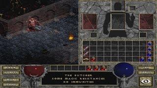 Diablo : Hellfire Walkthrough - Dungeon Levels 1 & 2