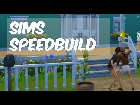 SIMS 4 SPEEDBUILD! // Cute shared home