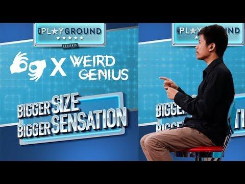 Juru Bahasa Isyarat Berita X Weird Genius X Playground