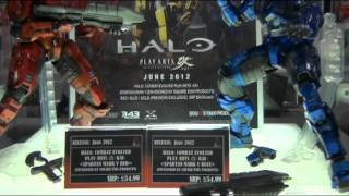 Square Enix Products @ New York Toy Fair 2012 - HALO: Combat Evolved Play Arts -Kai-