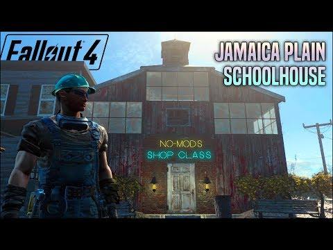 The Jamaica Plain Schoolhouse 🏫 Fallout 4 No Mods Shop Class