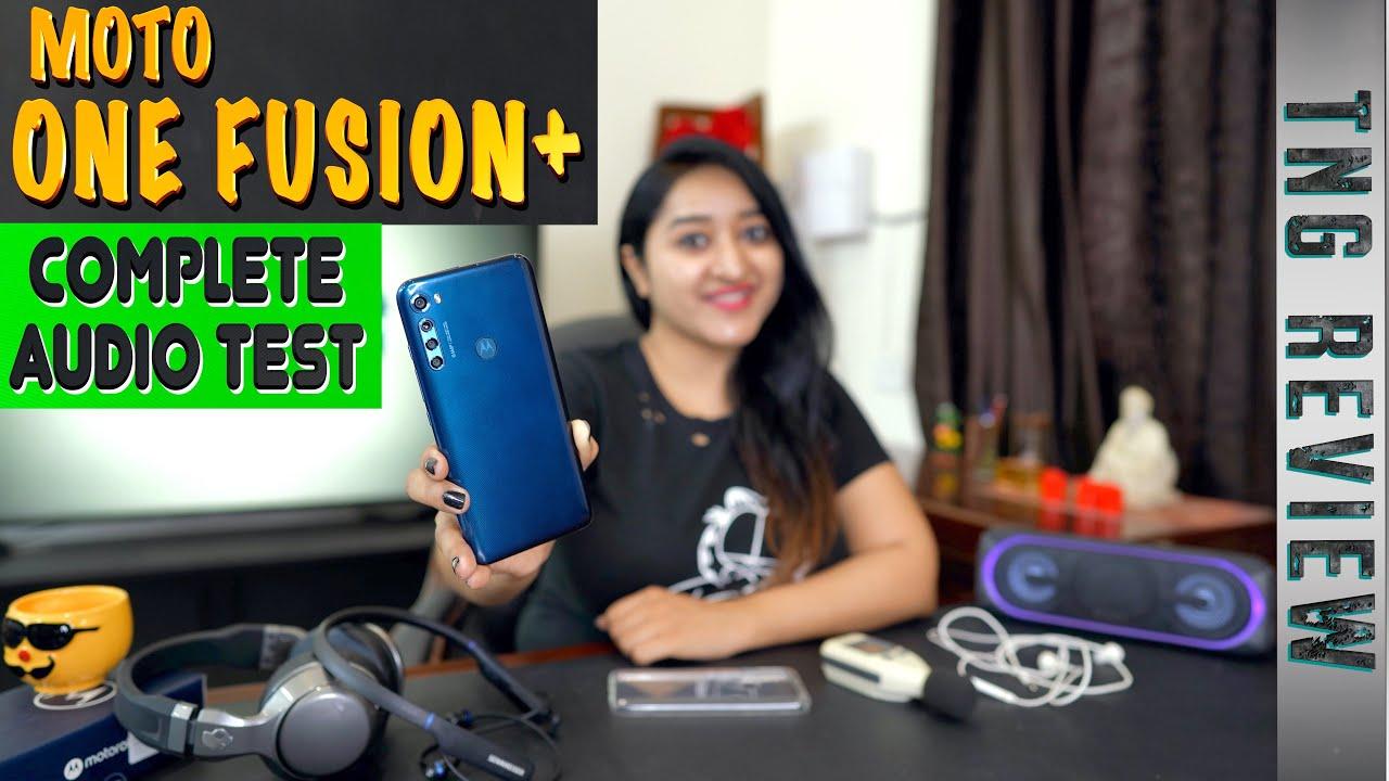 Motorola One Fusion+ Complete Audio Test