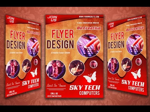 How To Create a Flyer In Photoshop CC 2017 | Be Ready Guys