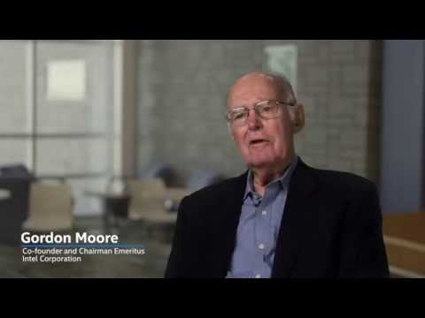 Gordon Moore: Thoughts on the 50th Anniversary of Moore's Law