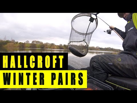 HALLCROFT LIVE MATCH FISHING - FEEDER MASTERS WINTER PAIRS R3