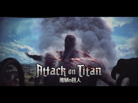 Creepy JAPAN Fuji-Q Highland Attack 4D Virtuality Ride