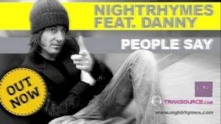 Nightrhymes Feat. Danny - People Say