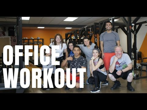 We Work Out Before Lunch!!